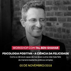 Novembro 2018 - Workshop Tal Ben-Shahar - 5 de Novembro de 2018