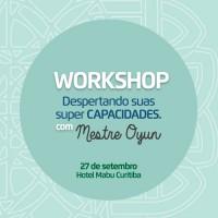 Setembro 2017 - Workshop: Despertando suas super capacidades